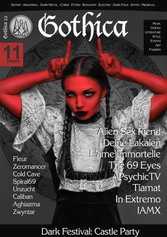 """Gothica"" magazine releases extended edition in honor of its 11th anniversary"