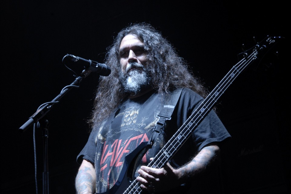 Photo by Metal Chris — Tom Araya's statue opened near Kyiv