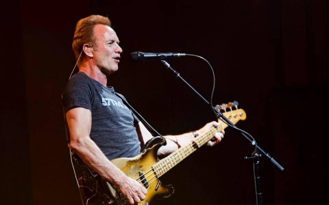 Sting to perform this fall in Kyiv