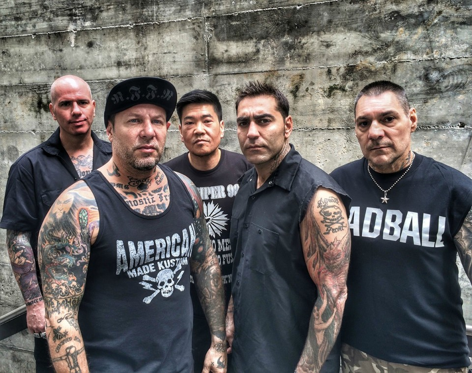 Agnostic Front's press photo — Agnostic Front to perform for the first time in Kyiv on November 21