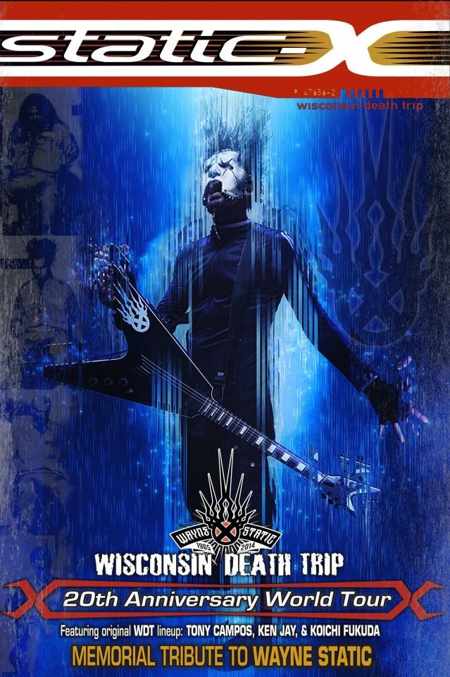 Static-X выступят в Киеве в рамках тура Памяти Уэйна Статика