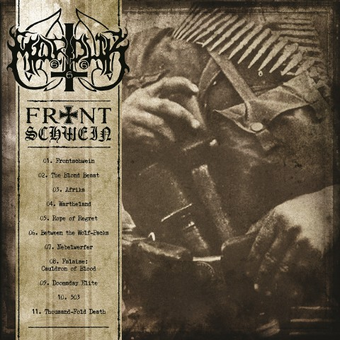 "Marduk: release of 13th album ""Frontschwein"""