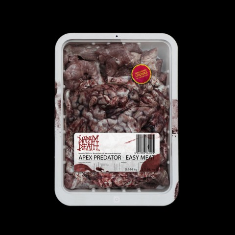 "Napalm Death: Реліз альбому ""Apex Predator – Easy Meat"""