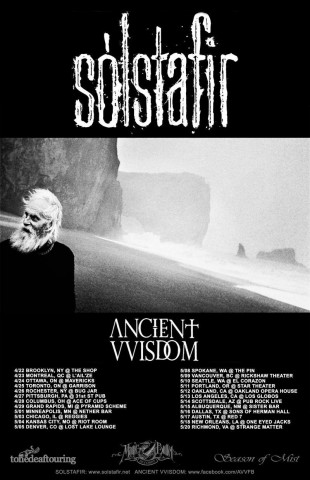 Sólstafir announces North American tour