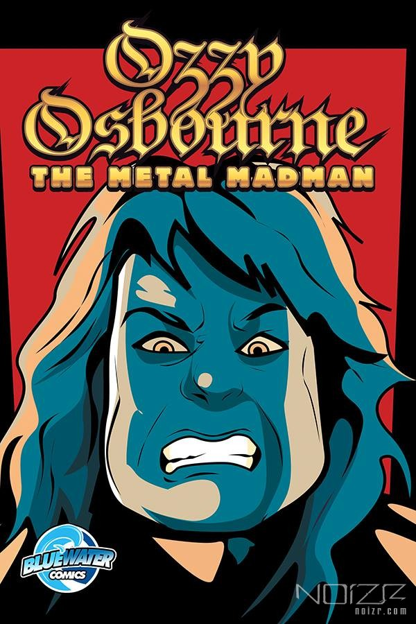 Bluewaterprod — Comic book about Ozzy Osbourne is announced