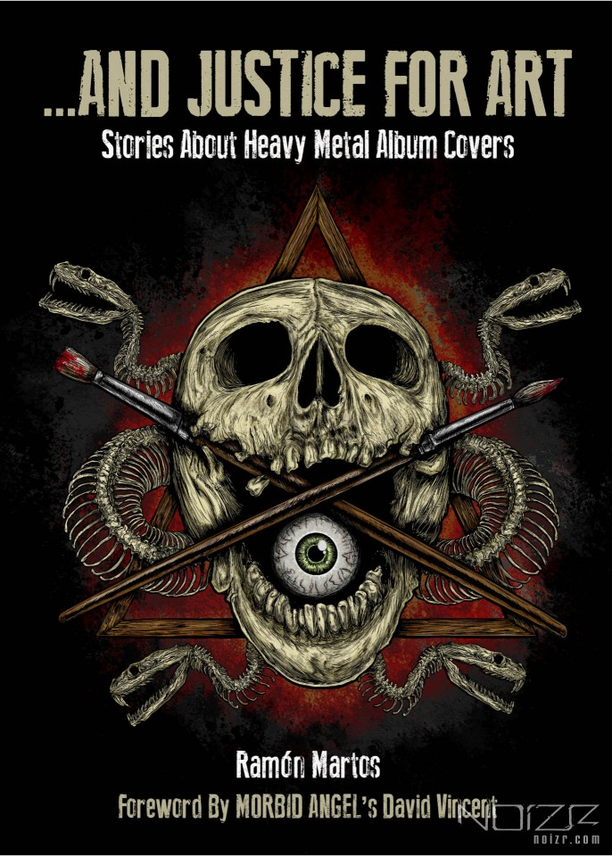 "And Justice For Art — The book ""And Justice For Art: Stories About Heavy Metal Album Covers"" will be released in April"