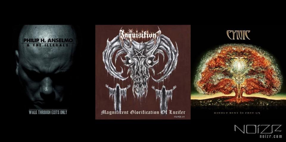 Официальный стрим альбомов групп Philip H. Anselmo & the Illegals, Inquisition и Cynic