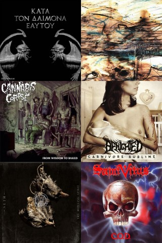New album streaming: Rotting Christ, Sólstafir, Seth, Cannabis Corpse, Benighted and Saint Vitus