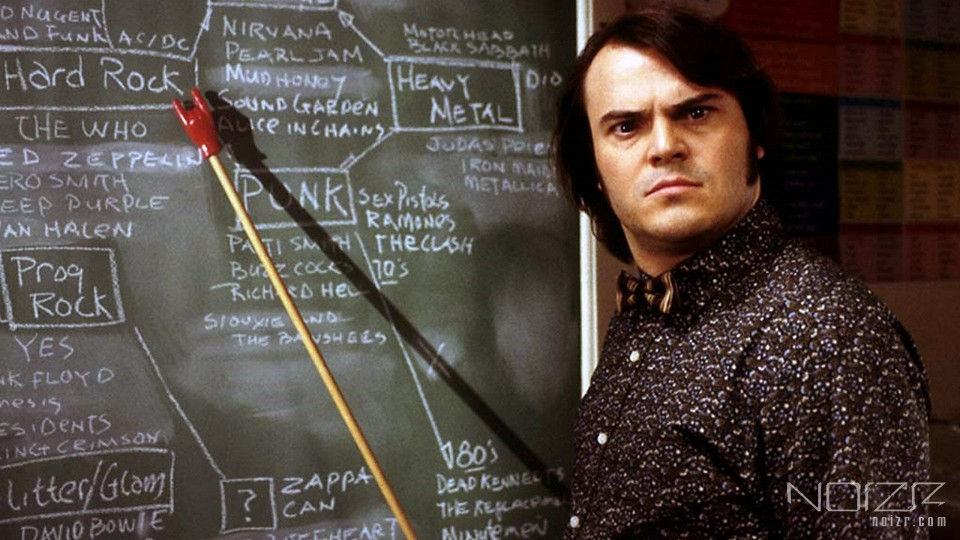 "The still from the movie ""The School of Rock"" — Heavy metal will be taught at University of Helsinki"