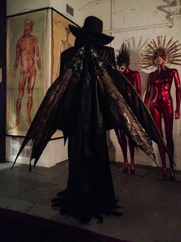 "Toxic Vision's designer posts photos of costumes from Behemoth video ""Messe Noire"""