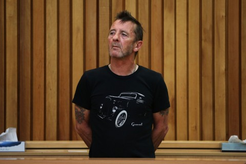 AC/DC's drummer pleaded guilty to threatening to kill