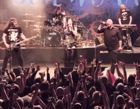 "Live video: Soilwork perform ""Let This River Flow"" feat. Floor Jansen"