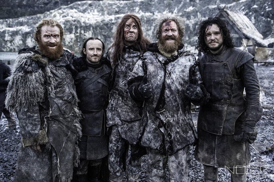 Photo credit: Helen Sloan/HBO — Mastodon play in TV show Game of Thrones