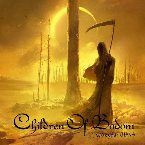 "Children of Bodom show their new album ""I Worship Chaos"" cover art"