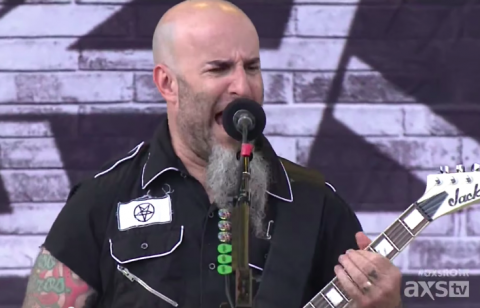 "Anthrax: live video ""Caught In A Mosh"" from Rock On The Range 2015"