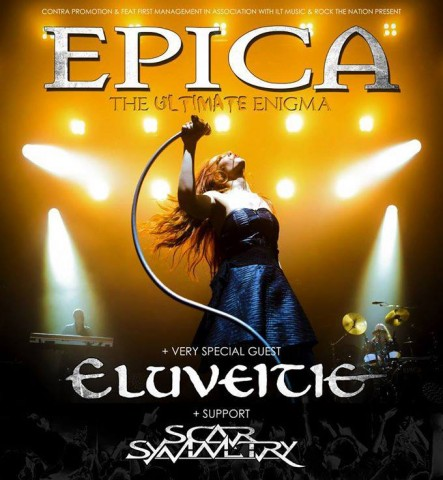 Video: Epica, Eluveitie and Scar Symmetry go on European tour this fall