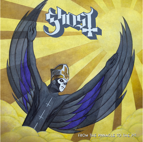"Ghost's new song ""From The Pinnacle To The Pit"" premiere"