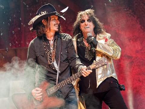 Hollywood Vampires: teaser of super-group feat. Alice Cooper, Johnny Depp and Joe Perry