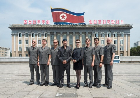 Video and photos from Laibach's performance in North Korea