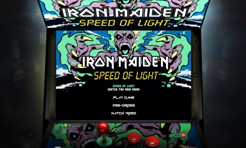 Iron Maiden presents game based on music video