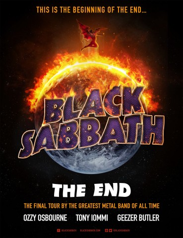 Black Sabbath announces The End Tour