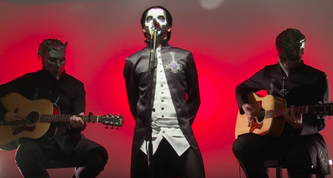 "Video: Ghost perform acoustic ""If You Have Ghosts"""