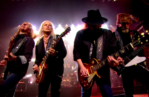 "Lynyrd Skynyrd's live video ""Gimme Three Steps"""