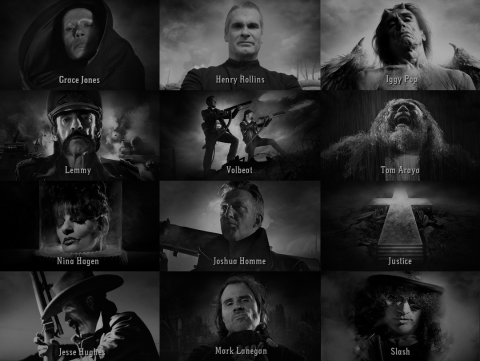 "Trailer for concert film ""Gutterdämmerung"" with rock stars"