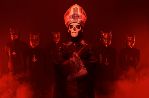 "Ghost: lyric video ""He Is"""