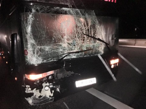 Fear Factory's bus involved in accident