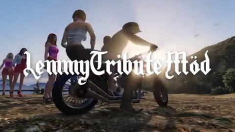 Lemmy appeared in Grand Theft Auto V