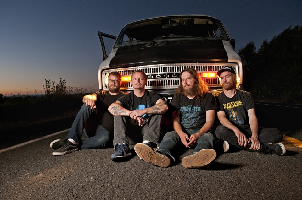 """Red Fang """"Whales and Leeches"""" press photo 2013 — Red Fang to release new album this fall"""