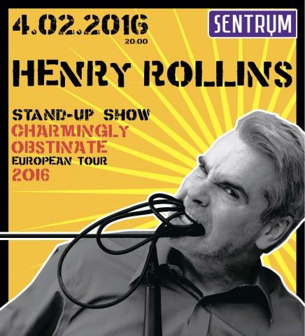 4.02.2016 Henry Rollins @ Sentrum, Kyiv