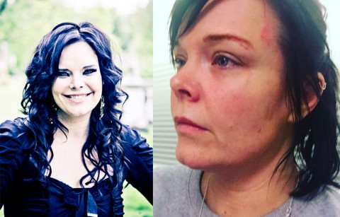 На бывшую вокалистку Nightwish напала наркоманка