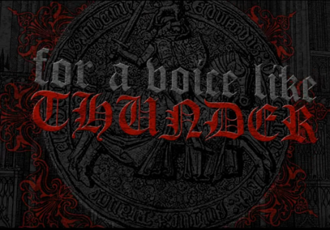 "Rotting Christ release lyric video ""For A Voice Like Thunder"""
