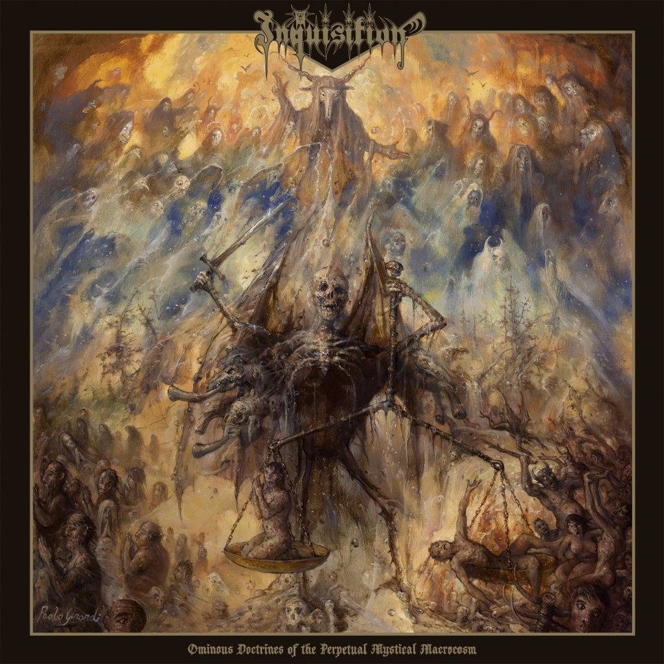 "Inquisition unveil new cover art for ""Ominous Doctrines of the Perpetual Mystical Macrocosm"""