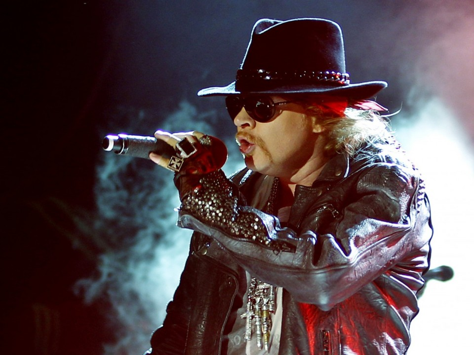 Photo is taken from rock-vector.com — Axl Rose to join AC/DC to the end of tour