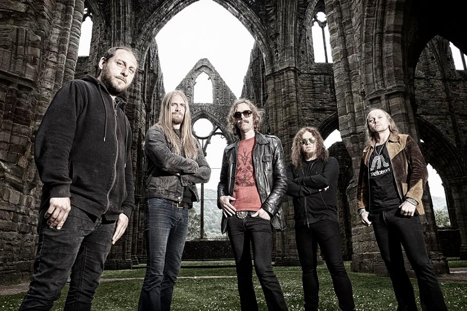 "Opeth's press photo — Opeth reveal details of new album ""Sorceress"""