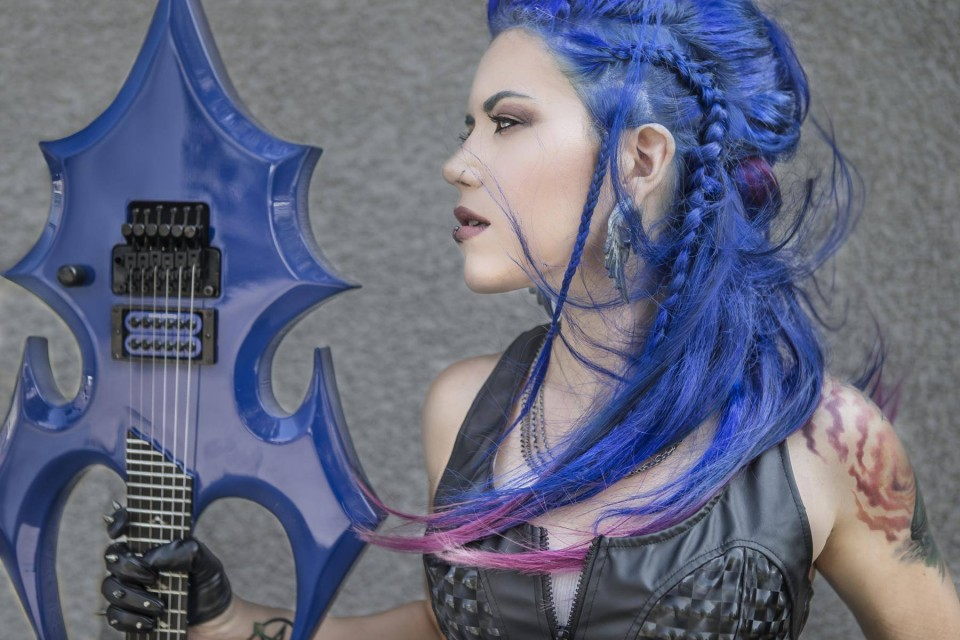 Photo by Jeremy Saffer — Arch Enemy's Alissa White-Gluz to release debut solo album