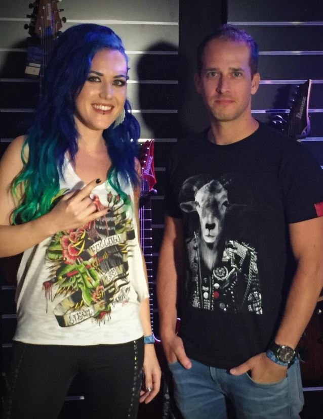 Alissa White-Gluz Napalm Records