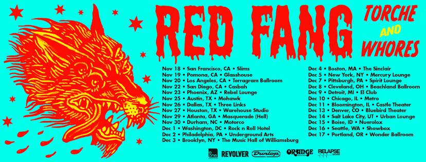 Red Fang Tour