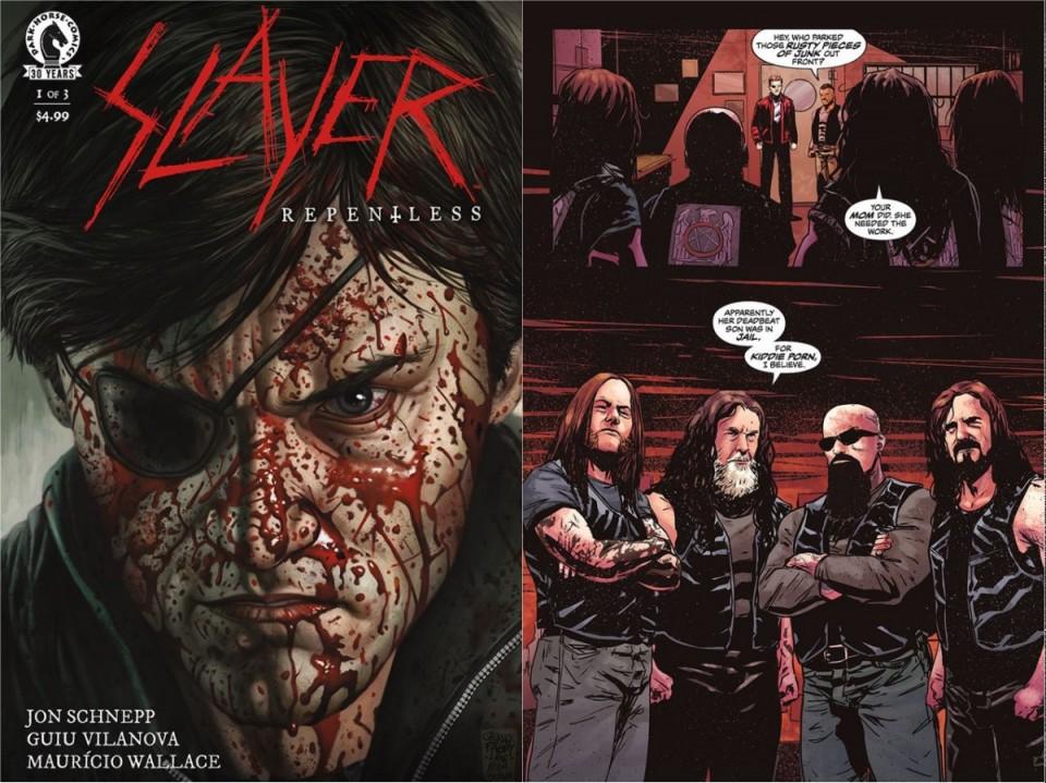 """В январе 2017 года выйдет комикс """"Slayer: Repentless"""""""
