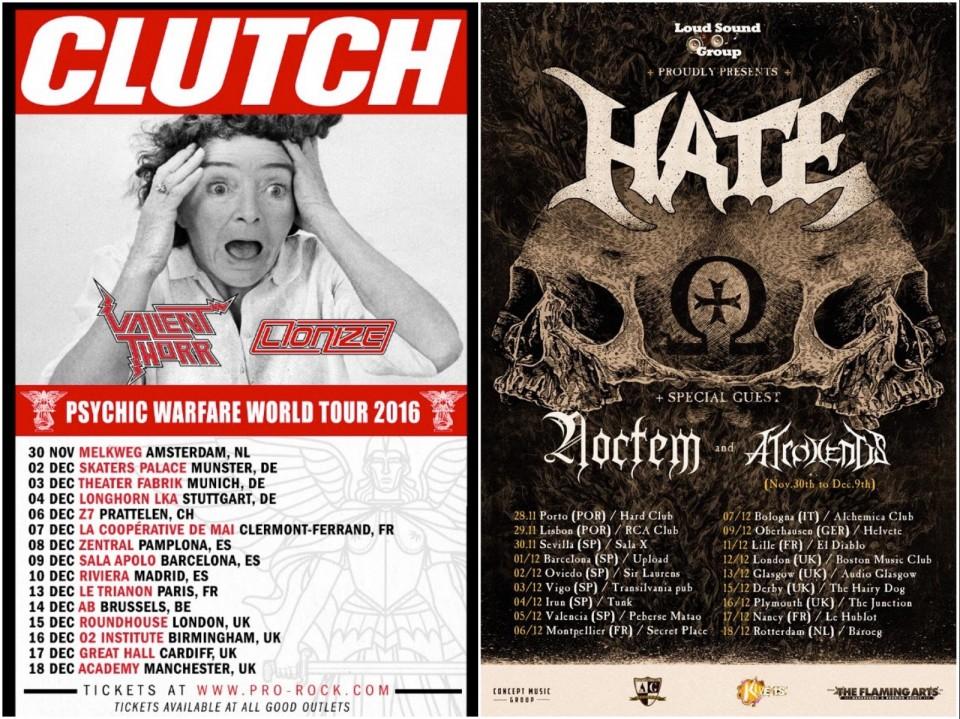 Clutch tour dates in Sydney