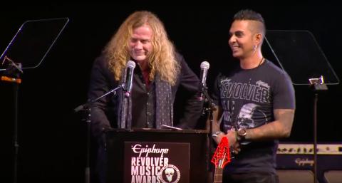 Результаты награждения The Epiphone Revolver Music Awards 2016