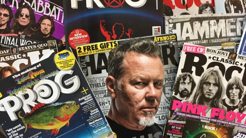 Pic by TeamRock — Classic Rock, Prog and Metal Hammer returned to former publisher