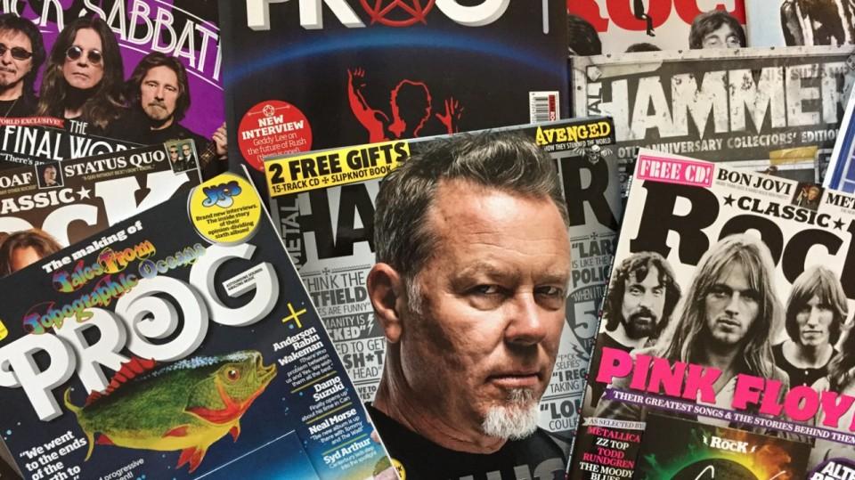 Фото — TeamRock — Журнали Classic Rock, Prog і Metal Hammer повернулися до колишнього видавця