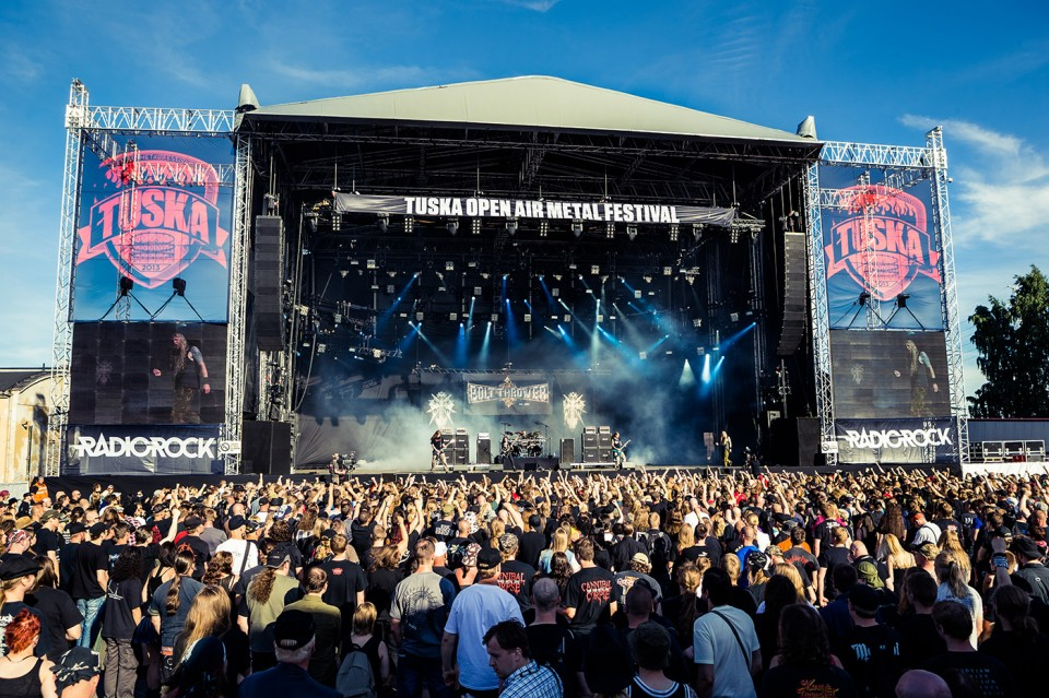 Tuska Open Air — Amorphis, Nightwish, and Children of Bodom members recorded hymn for Tuska Open Air