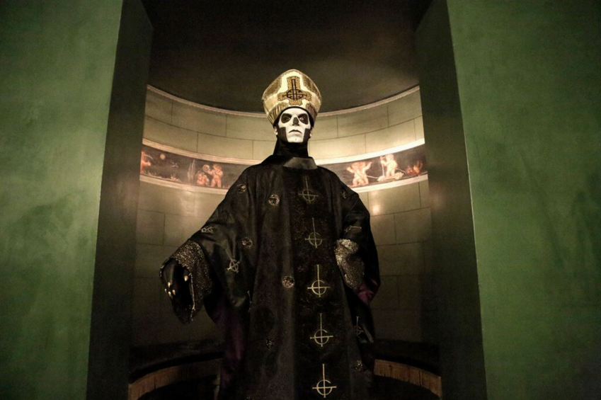 Papa Emeritus — Former Ghost members sue band's leader