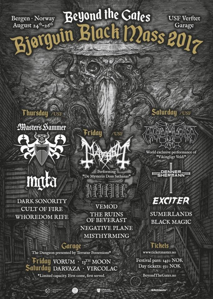 Фестиваль Beyond the Gates оголосив повний склад учасників