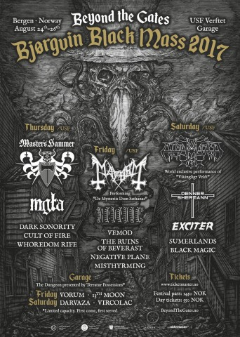 Beyond the Gates festival announces complete line-up